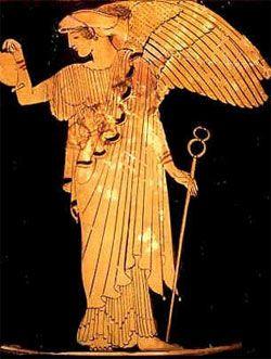 Iris ~ goddess of the rainbow, messenger of the gods
