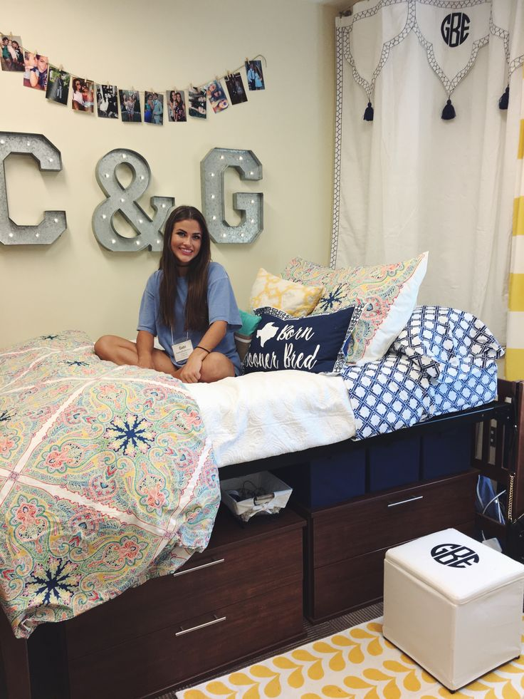 7852 best dorm room trends images on pinterest - Dorm room bedding ideas ...