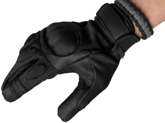 Matrix Nomex Hard Shell Knuckle Tactical Gloves (Size: M) - Black