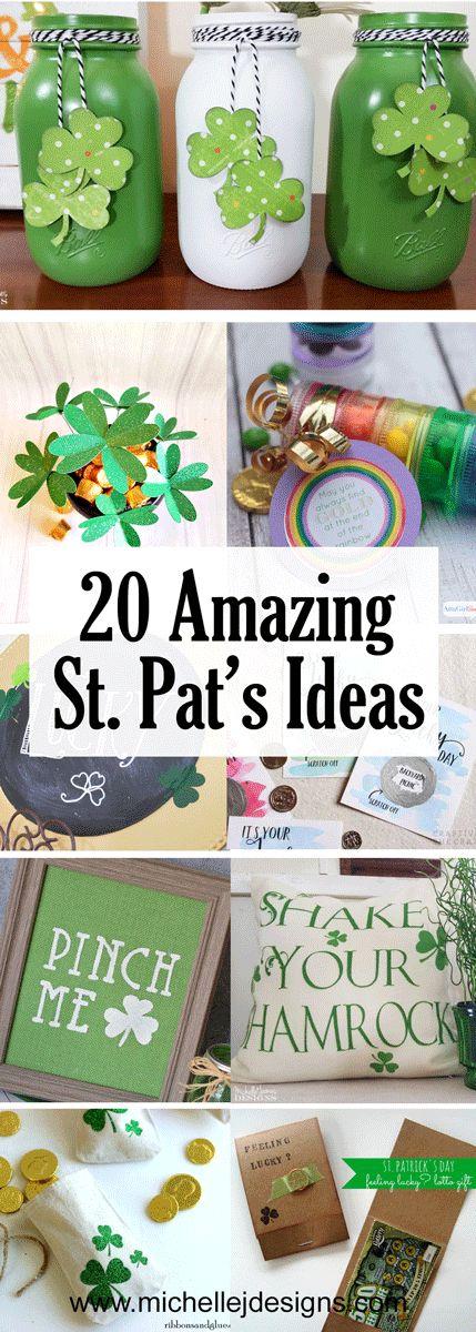 All of these amazing St. Patrick's Day ideas are perfect for our St. Patrick's Day Celebration #Stpatsideas #stpatricksday #stpatsdecor