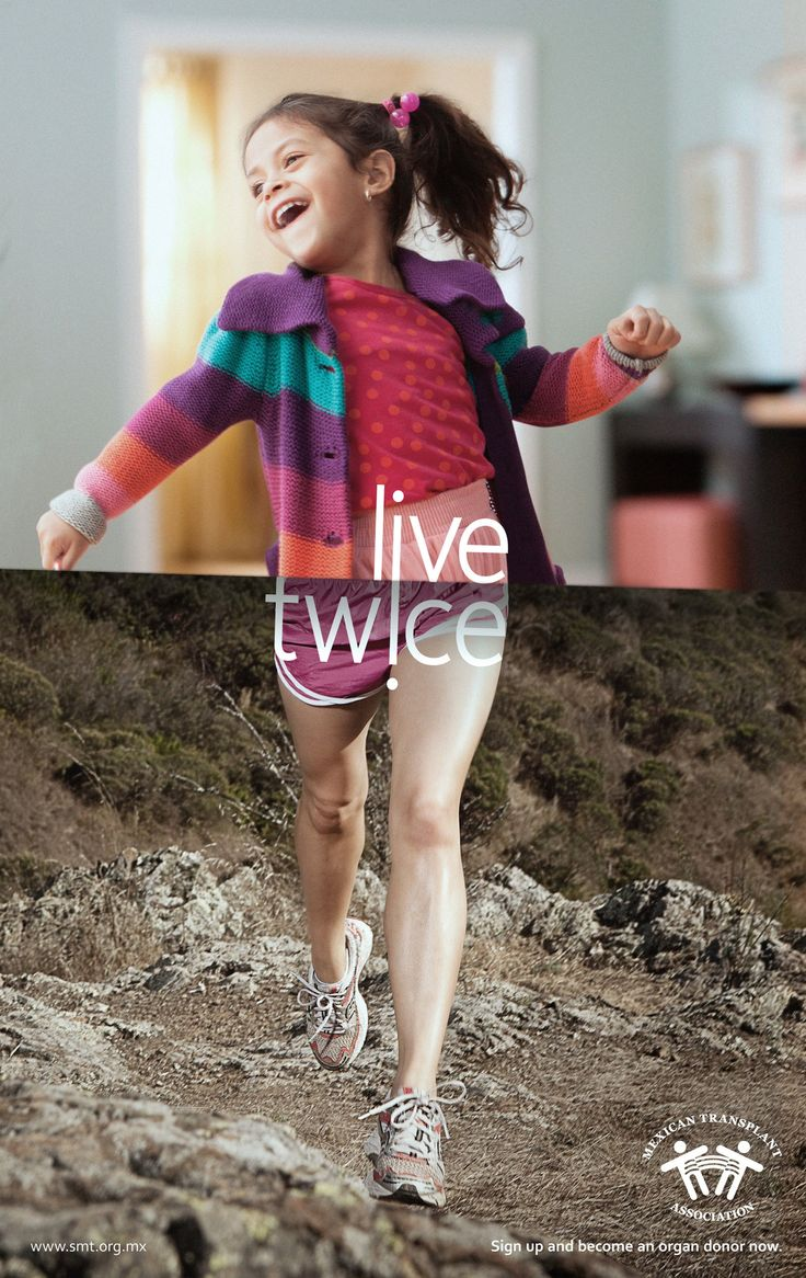 Live Twice - Mexican Transplant Association, by Publicis   http://www.creativeadawards.com/live-twice/