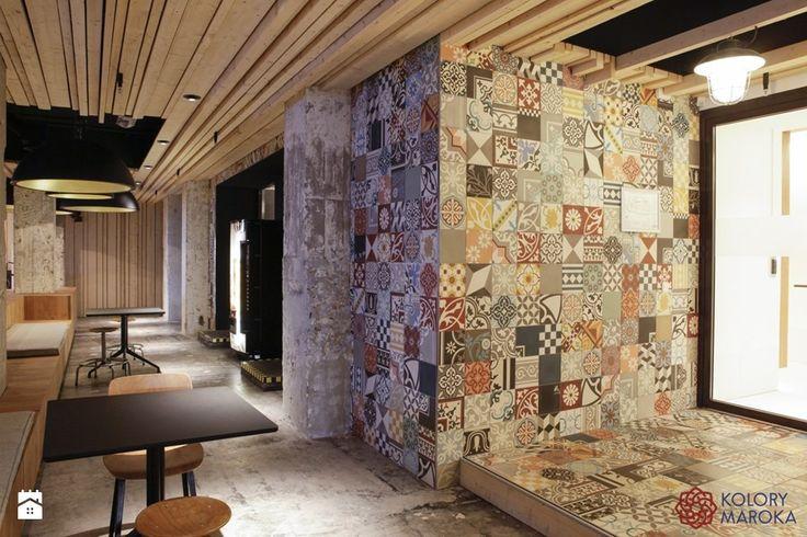 Piękne cementowe - patchwork - zdjęcie od Kolory Maroka