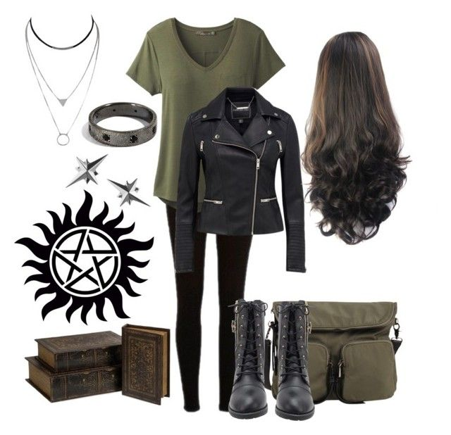 Autumn Jackson - Hunter by elloracat on Polyvore featuring polyvore, fashion, style, prAna, River Island, christopher. kon, Tessa Packard, IMAX Corporation, clothing and supernatural