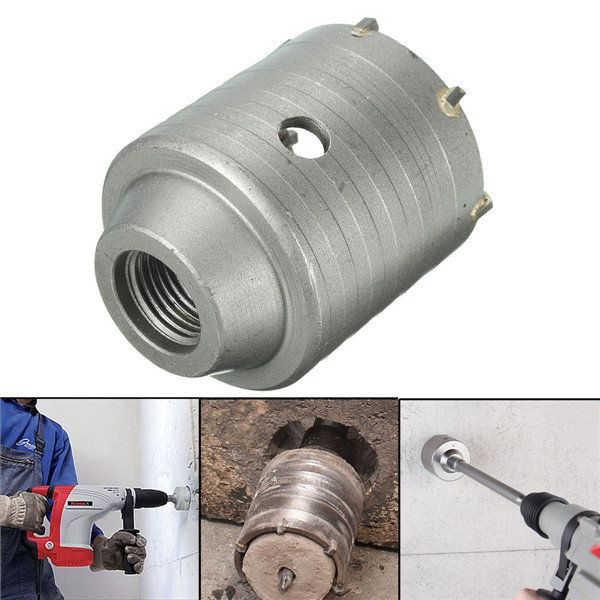 Us 13 38 60mm Wall Hole Drill Bit Hole Sawtooth Brick Concrete Cement Walls Hole Saw Cutter Tool Accessories From Tools Industrial Scientific On Ba