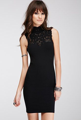 Cutout Bodycon Dress | Forever21 - 2000119753