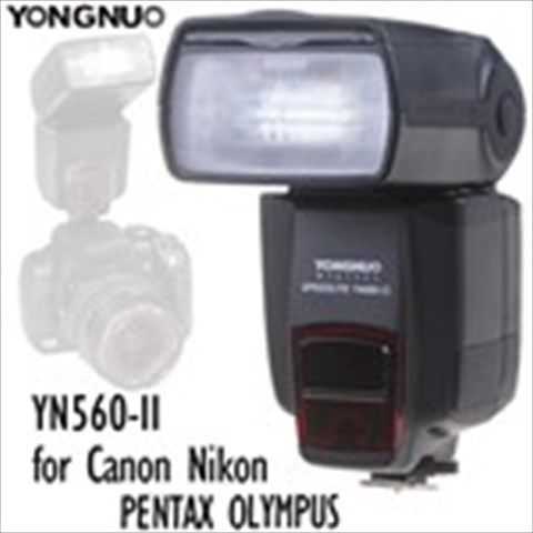 (YONGNUO) YN560-II Flash Speedlite with LCD Screen for Canon Nikon PENTAX OLYMPUS