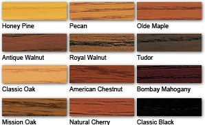 Minwax Stains And Stain Colors On Pinterest