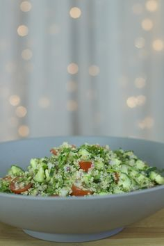 Salada de Tabbouleh – #segundasaudavel | Vai Comer o Quê?