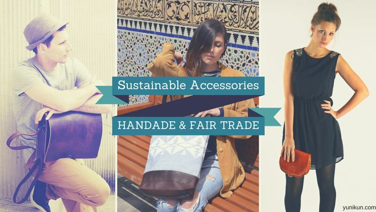 Beautiful leather bags, handmade and fair trade. everybody wins, a virtuous circle, produce and consuming differently.