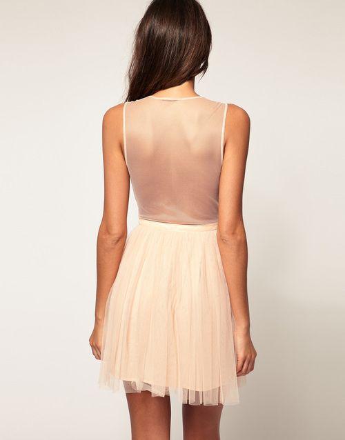 sheer backFull Skirts, Fashion, Back Dresses, Wow Dresses, Style, Bridesmaid Dresses, Clothing 33, The Dresses, Beautiful Clothing