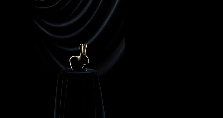 #Ghidini1961 #StefanoGiovannoni #Rabbit #photo #TommasoSartori #BrassEnsemble #brassdesign #design #designweek #milan