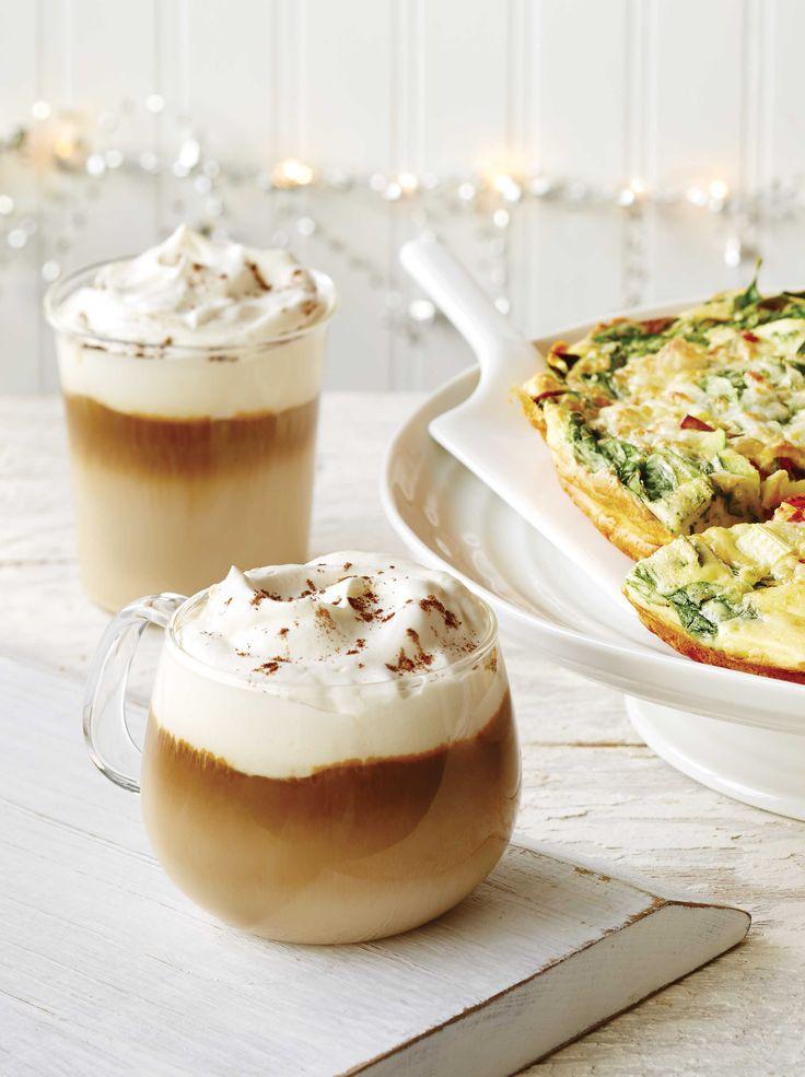 Café espresso + #CoureurDesBois + lait