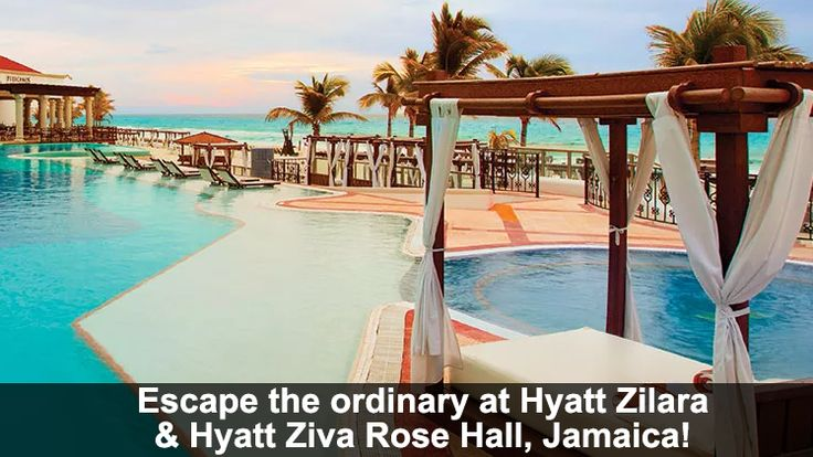 Escape the ordinary at Hyatt Zilara & Hyatt Ziva Rose Hall, Jamaica! - https://traveloni.com/vacation-deals/escape-ordinary-hyatt-zilara-hyatt-ziva-rose-hall-jamaica/ #caribbeanvacation #jamaicavacation #destinationisland