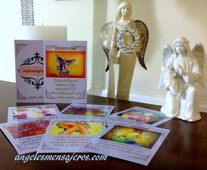 Kit cartas de angeles en espanol, oraculo de angeles en espanol,venta de barajas de angeles en espanol,lectura de angeles,cartas de angeles,