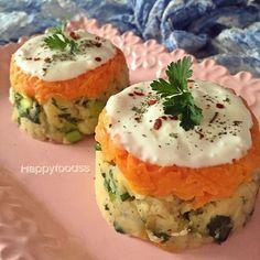 Porsiyonluk patates salatasi