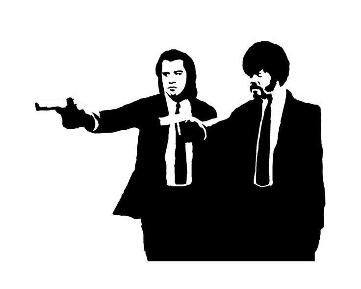 Pulp_Fiction_Stencil_by_JOSHUASHUA.jpg (1600×1280)