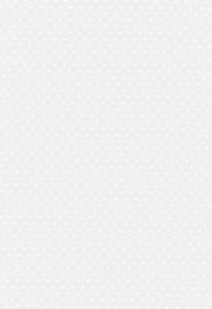 Fabric | Rosabel Dot Sheer in White | Schumacher