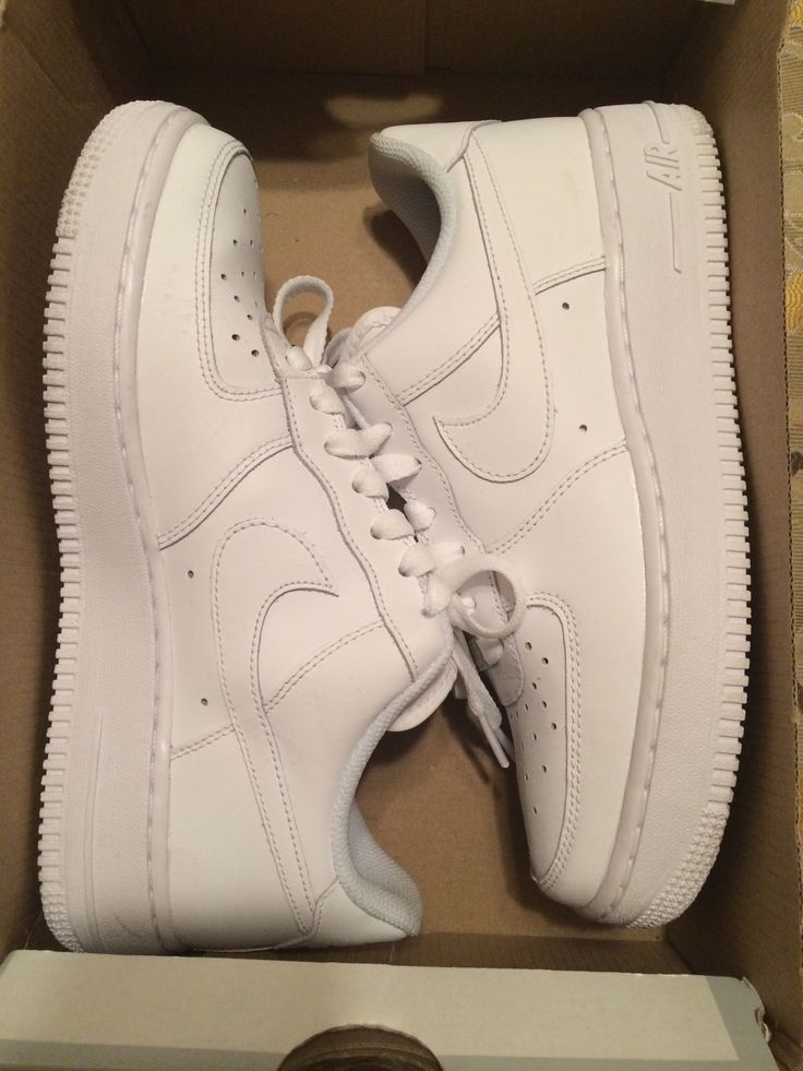 White Air Force 1s low
