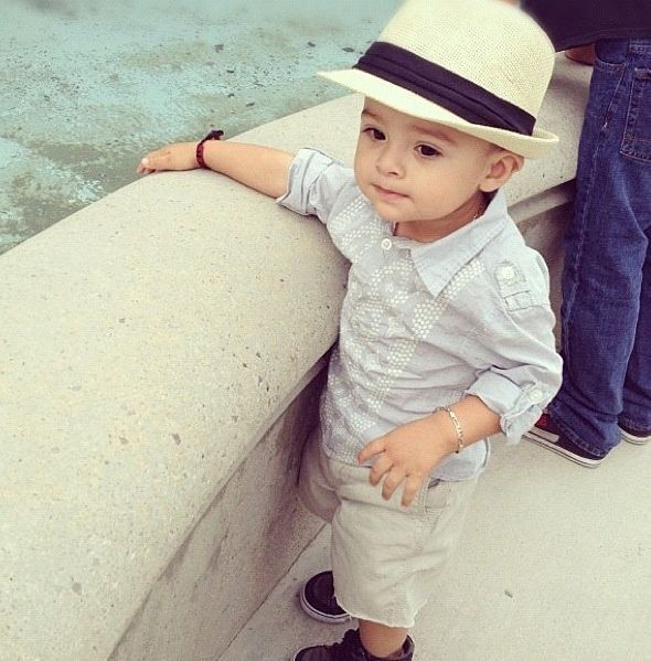 Such a stylish little man