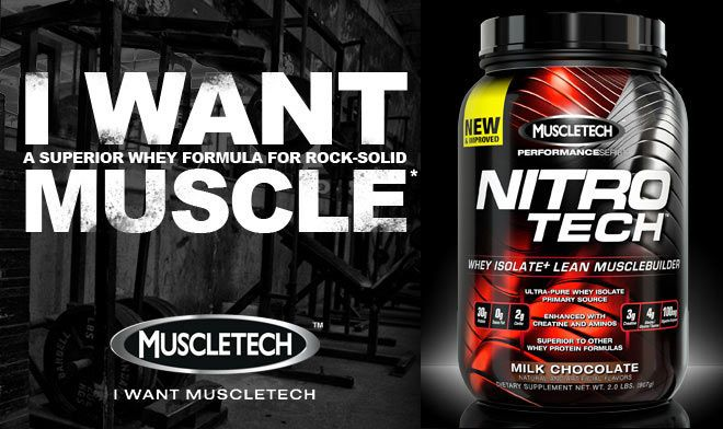 MuscleTech Nitro-Tech Whey protein review