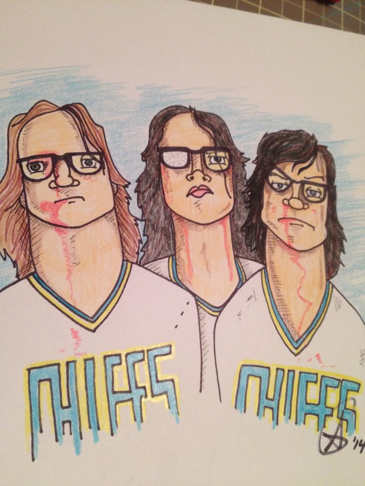 The Hanson Brothers from Slapshot!