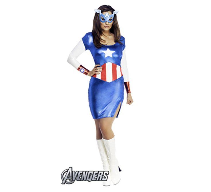 Disfraz de #CapitanAmerica  #LosVengadores #TheAvengers #TheAvengers2 #Marvel #Disfraz #Disfraces #LosVengadores2 #Superheroe #Superheroes #Superhero #Superheros