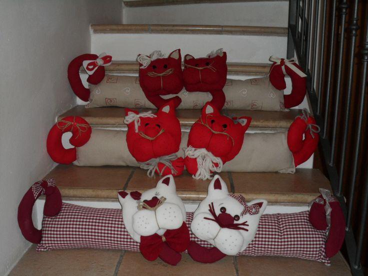 cuori pezze e fantasia: paraspifferi x #Natale