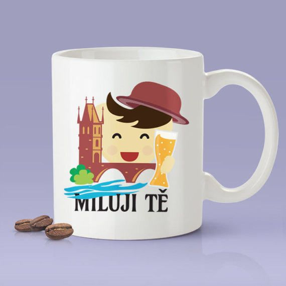 Miluji tě  Czech Gift Idea For Him or Her  Makes A Fun