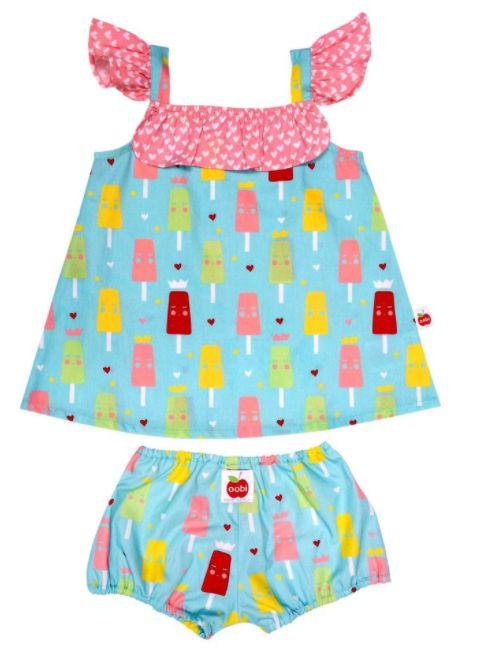 Rosie Blue Princess Ice Cream Baby Set