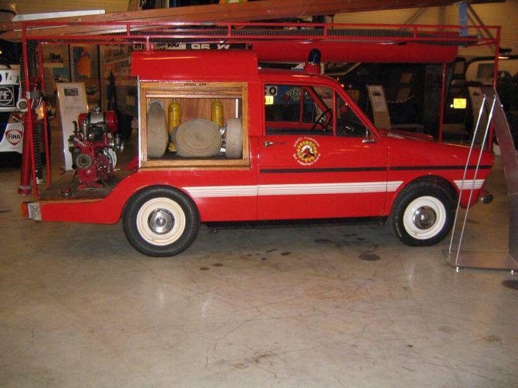 DAF bestel brandweer auto