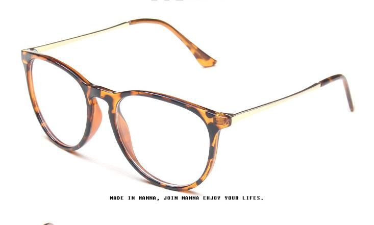Fashion Eyeglasses Retro Vintage Metal Optical Frame Reading Glasses Men Women Myopia Eye Glasses Frame arZUT