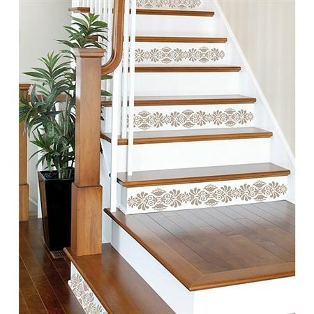 Ok, I like these ones!!!!! Stair decals!