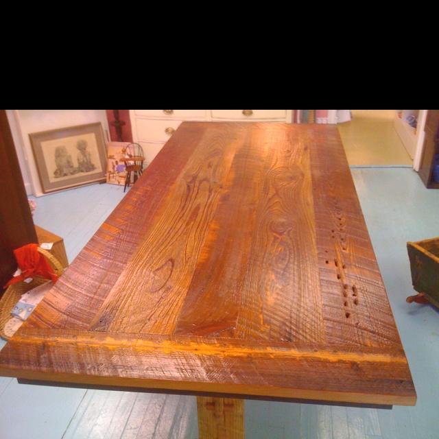 Rough Cut Cypress Farm Table My Creations Pinterest