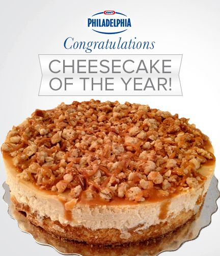The 2013 Cheesecake of the Year: Lisa Bernardi's Apple Crumble Cheesecake