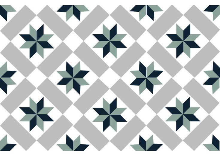 carreau ciment géométrique