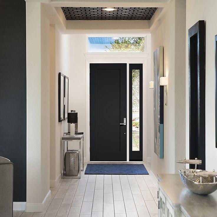 how to paint a fiberglass door smooth
