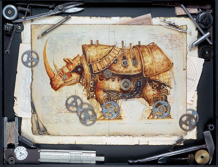 Zoo Steampunk - La boite verte