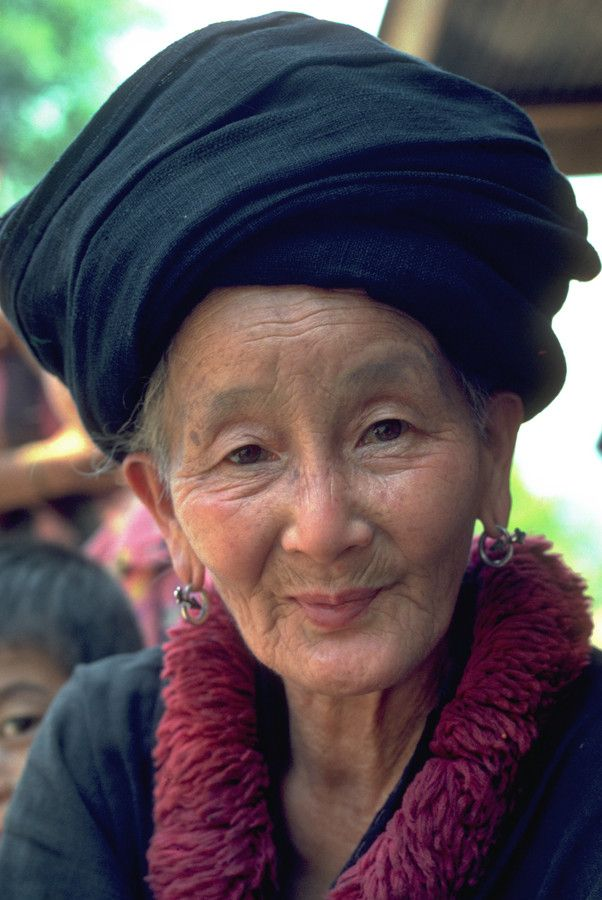 Timeless beauty by john spies on 500px Mien tribal elder, Phayao province, Thailand. Taken on kodachrome slide film, early 1980's