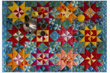 Grab Your Leftover Fabrics and How to Make a Scrap Quilt Like a Pro-By Janet Wickell  Make a Gorgeous Scrap Quilt: Make a Scrap Quilt-learn how to make a scrap quilt because scrap quilting projects help you eliminate the stress of selecting colors. Instead, you'll focus on choosing fabrics that contrast with each other and the final outcome will be just as wonderful