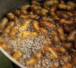 Boiled peanuts are a traditional snack food in southern states. They are an acquired taste, but according to southerners, they are totally addictive.