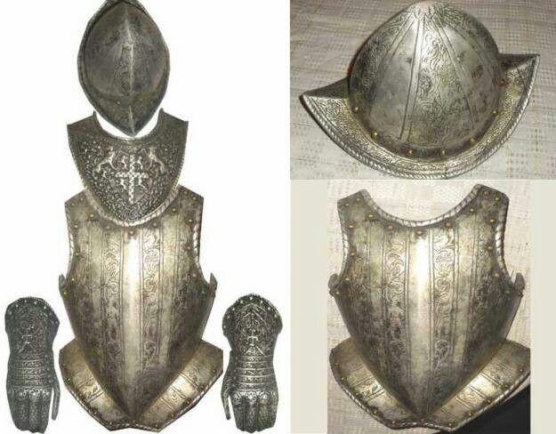 Armadura de conquistador español ./tcc/
