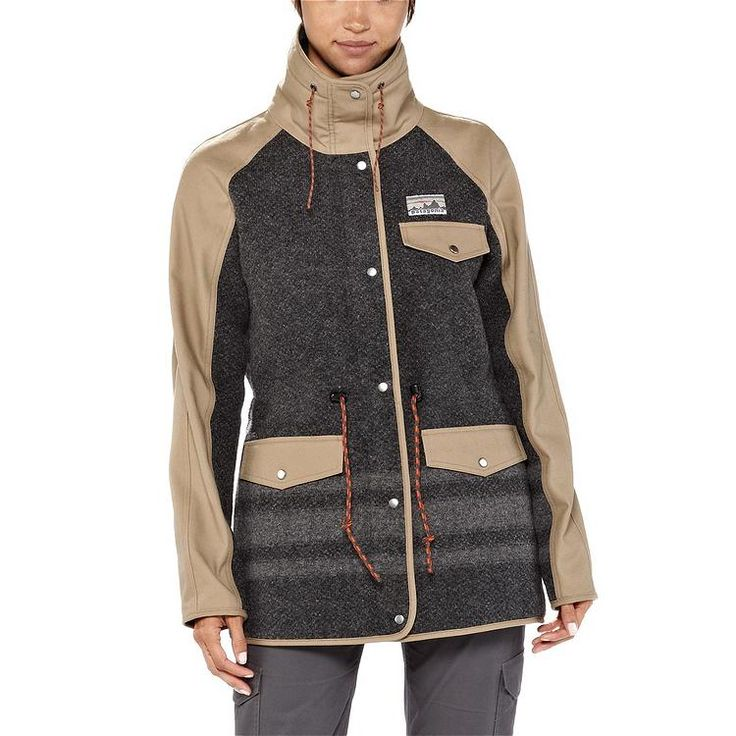 Patagonia Women's Reclaimed Wool Parka - seems like just the thing for Cleveland winters.