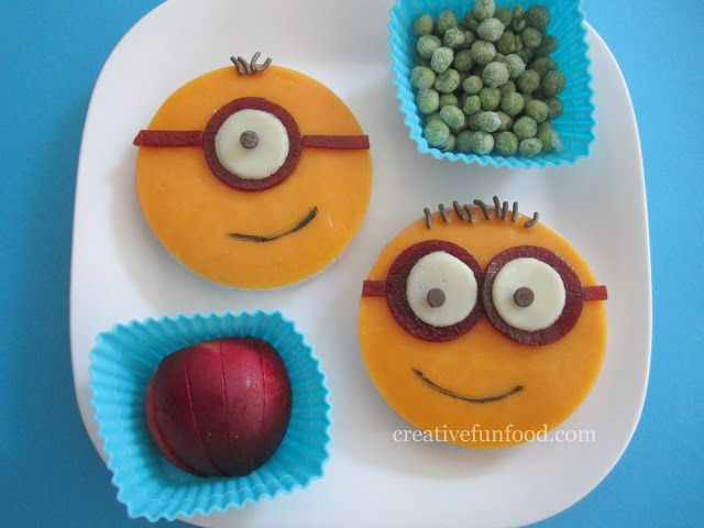 Easy Despicable Me Minion Lunch! on creativefunfood.com