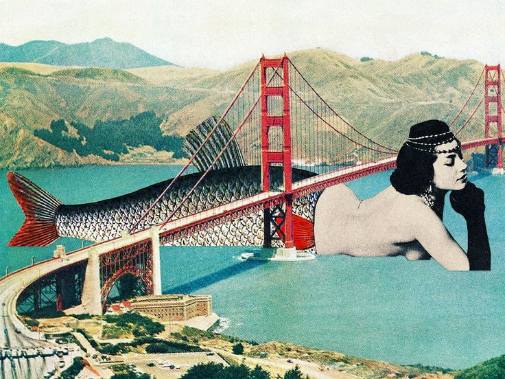 Les collages vintage pop de Eugenia Loli 2Tout2Rien