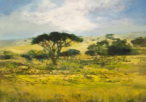 Wide open space reveals creation by Marlene Dickerson