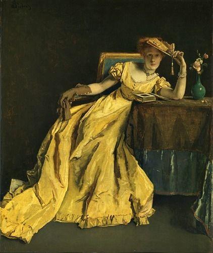 Remember,1863, by Alfred Stevens (Belgian, 1823-1906).