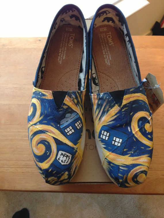 Doctor who toms. I would wear these everyday until I wore holes in them and then I would wear them as sandals. Until they were completely unwearable.