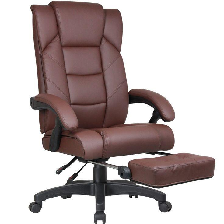 Groß Schreibtisch Stuhl Mit Fußstütze