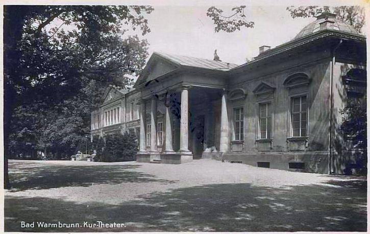 Teatr w Parku Zdrojowym.