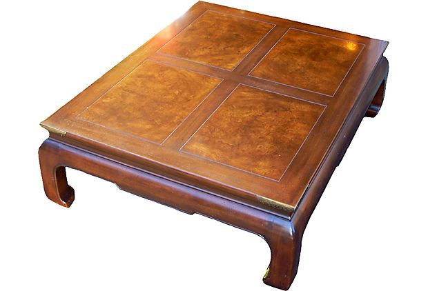 One Kings Lane   Furniture: Classic To Exotic   Henredon Asian Style Coffee  Table